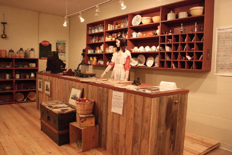 General Store exhibit