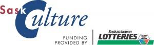 SaskCulture logo HORIZONTAL full co large
